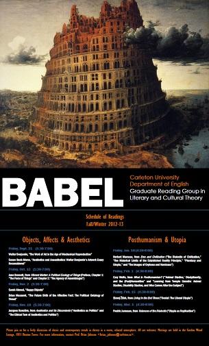 BABEL 2012-13