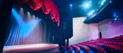 Theatre, Curtains, Audience