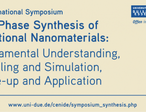View Quicklink: International Symposium Gas-phase Synthesis 2020