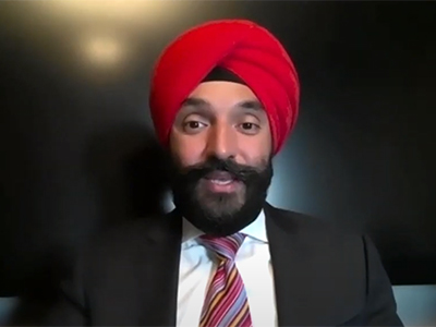 Photo for the news post: Carleton's Inclusion Week: A Conversation with Michael Charles and Navdeep Bains