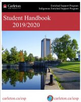 Image of Student Handbook. Click to download pdf