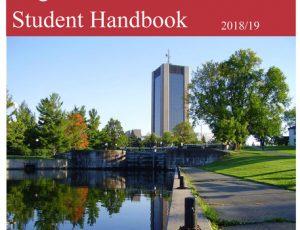 View Quicklink: Student Handbook