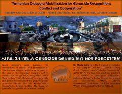 Armenian Diaspora Talk (Sept  20)