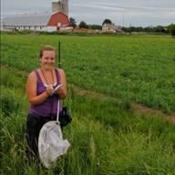 Tatyana in the field