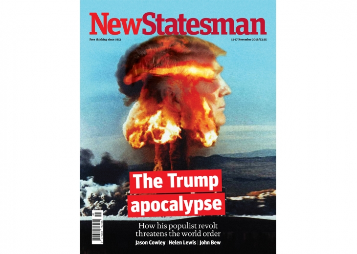 Front Cover of the New Statesman, November 2016 (Photo Credit)
