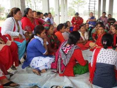 Photo for the news post: Working Toward Women's Equality in Nepal, Study Trip