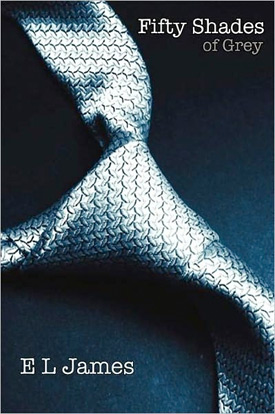 50 Shades of Grey Book Cover, example of Schlock