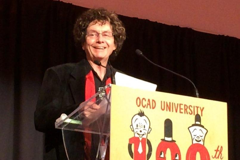 Inaugural OCADU Alumni of Influence Award for Distinguished Educator, 2015