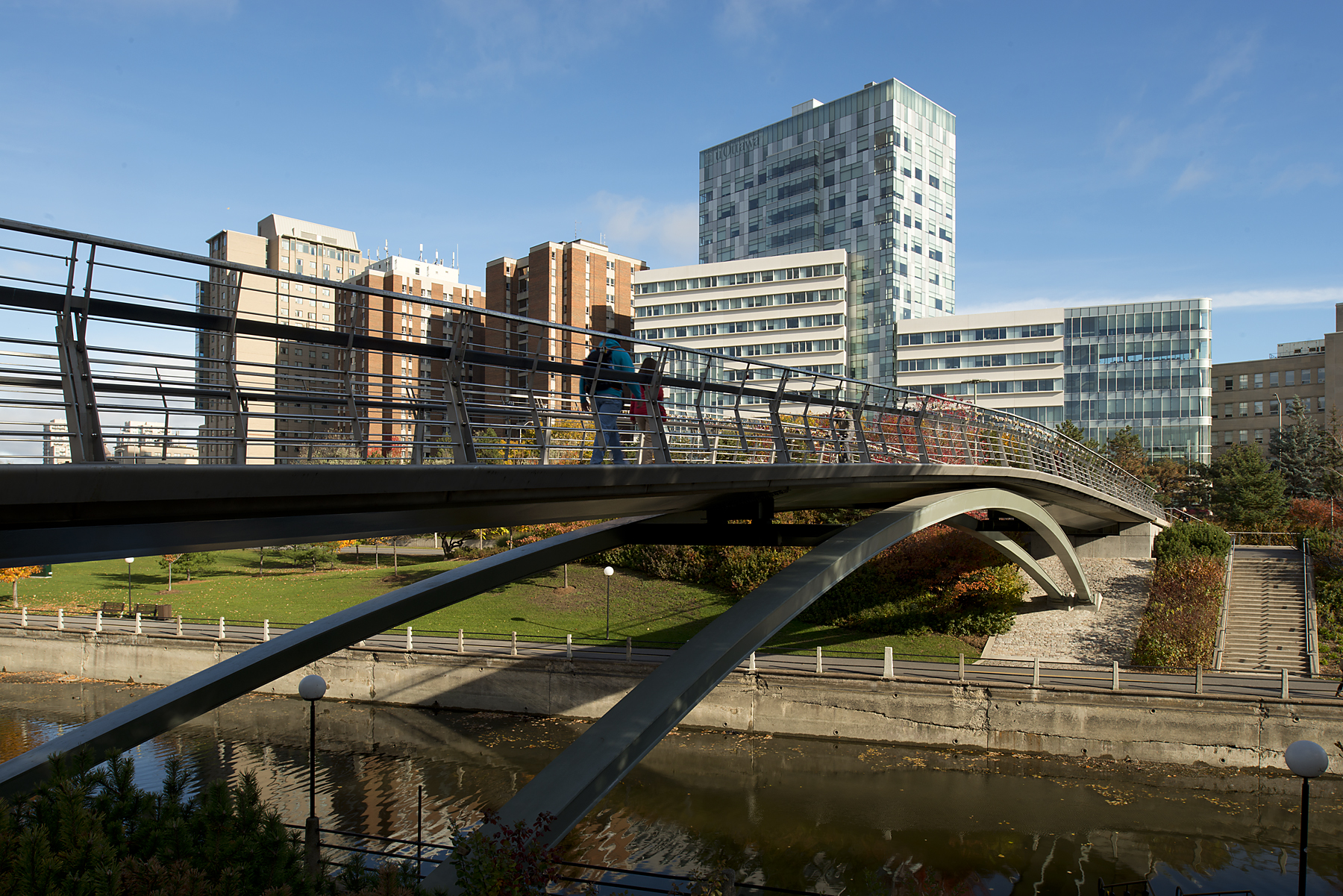 Pedestrian Canal Bridge