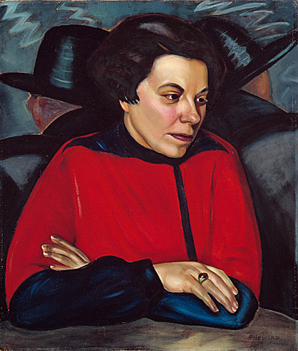 Prudence Heward, At the Cafe (c.1928)
