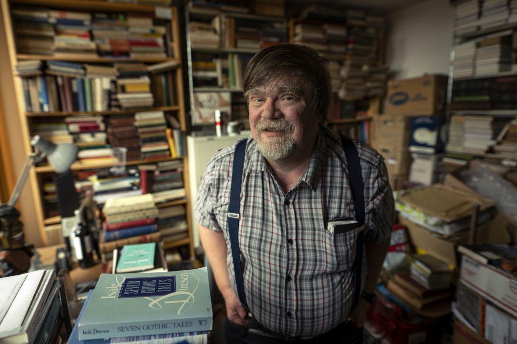 Professor James Deaville.  Photo by Chris Roussakis.
