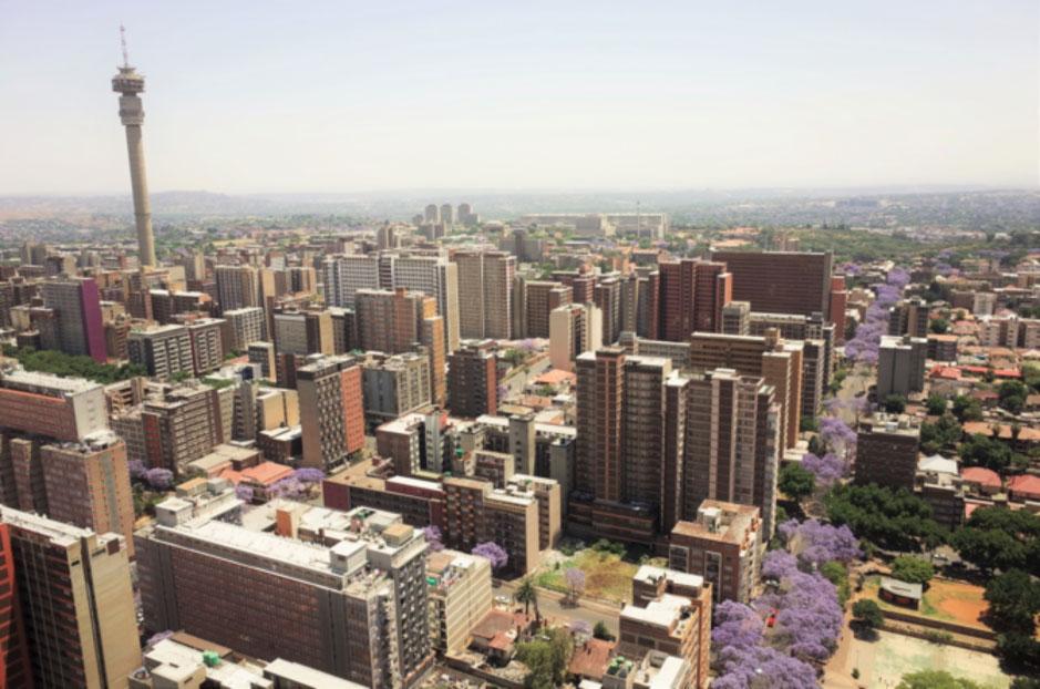 Hillbrow Tower, downtown Johannesburg