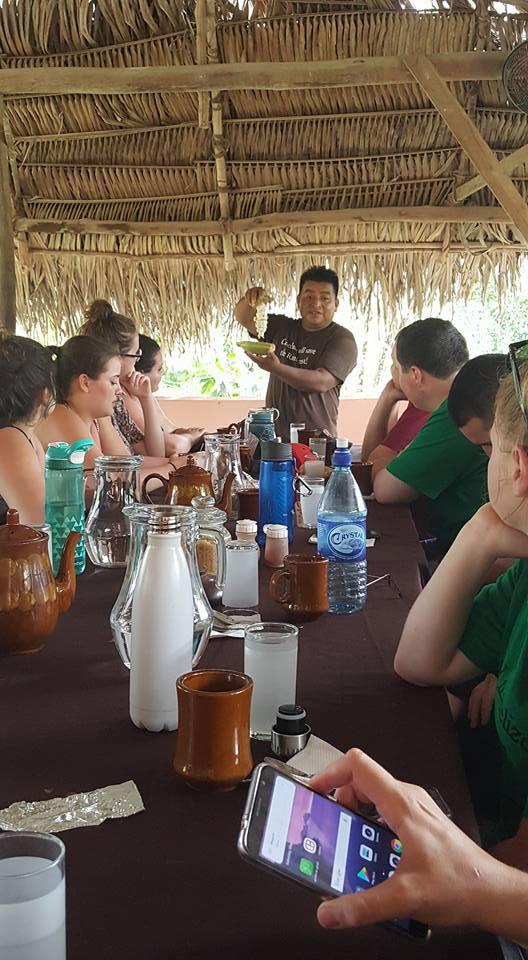 Tour and chocolate demonstration at Ixcacao Maya Belizean Chocolate in San Felipe, Belize