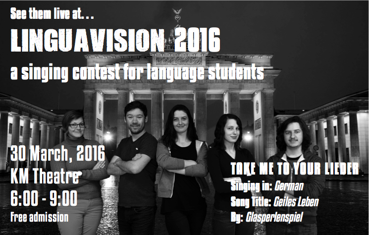 Get Ready for Linguavision 2016! | Faculty of Arts and