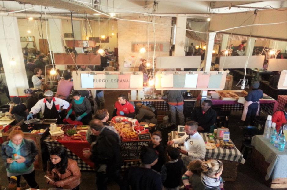Market on Main, downtown Johannesburg