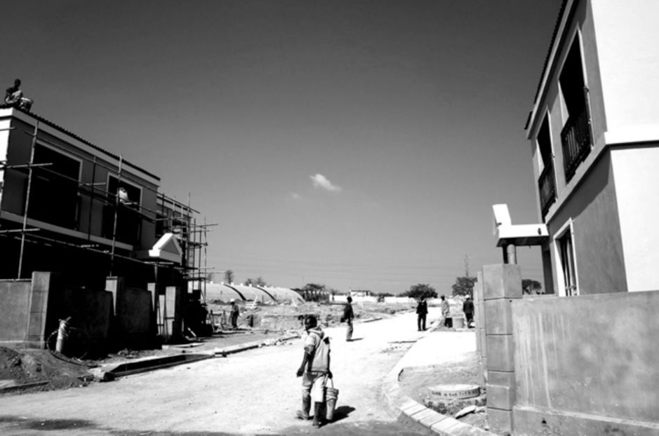 Migrant labourers in construction and domestic sectors