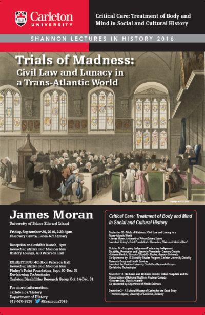 Trials of Madness: Civil Law and Lunacy in a Trans-Atlantic World