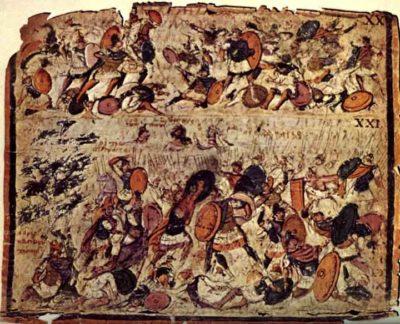 Battle Scenes, Ambrosian Iliad Pictures 20, 21