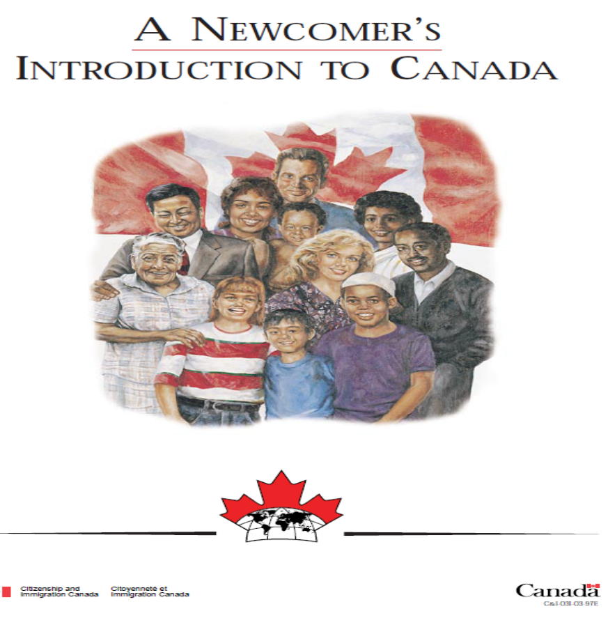 A Newcomer's Introduction to Canada - Government of Canada Ad