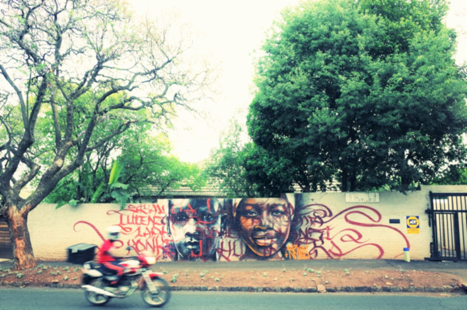 Graffiti in the suburb of Melville