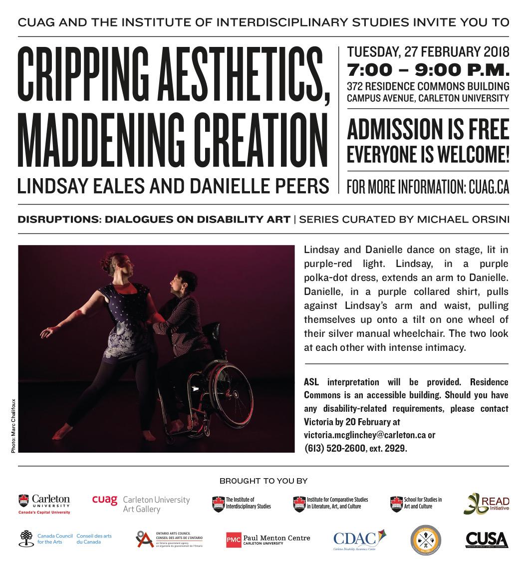 Cripping Aesthetics, Maddening Creation