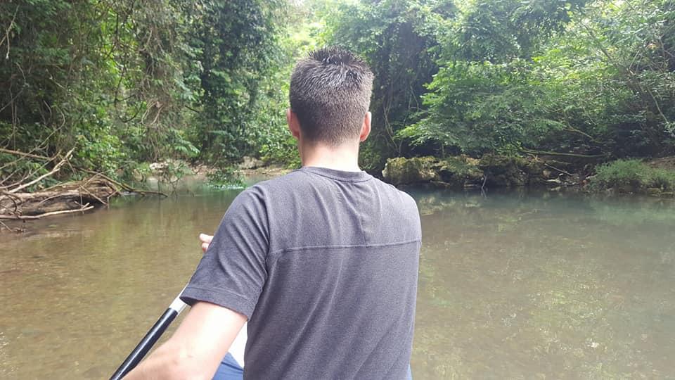 Guided canoe trip down Rio Grande