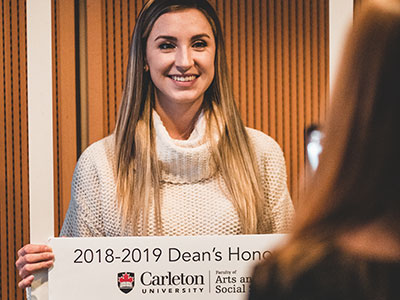 Photo for the news post: Dean's Honour List 2018-2019 Reception Photos