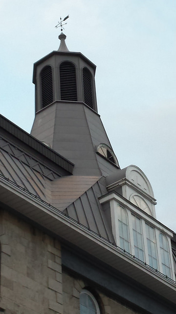 Waldron project - steeple preservation project at LaSalle Academy, Sussex Drive.