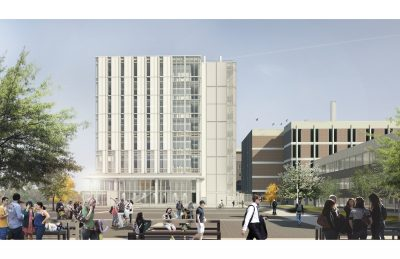 Academic Building Rendering 1-CUHS 2015-06-09
