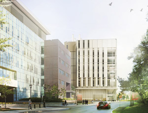 View Quicklink: New Academic Health Science Building