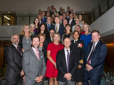 Photo for the news post: 75 for the 75th Alumni Return to Carleton Campus