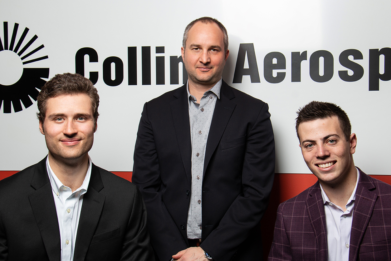 Sean Murphy, Guillaume Côté, and Kevin Budning