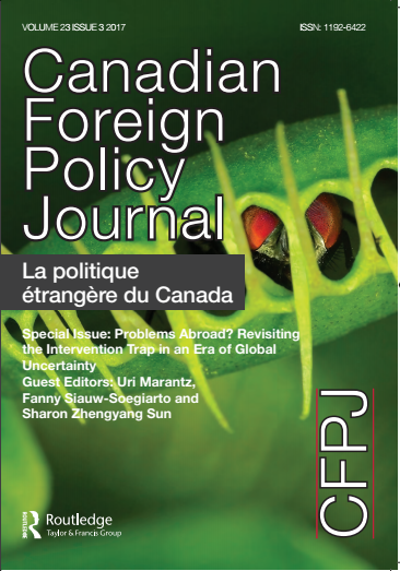 cover of Canadian Foreign Policy Journal
