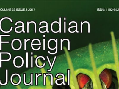 Photo for the news post: Canadian Foreign Policy Journal Compares U.S. Intervention Policies