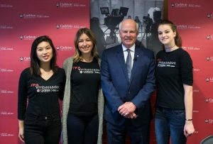 FPA Ambassadors with Peter Mansbridge