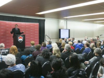 Photo for the news post: Economist Jim Stanford Challenges Conventional Wisdom in Bell Lecture