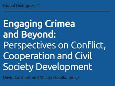 Photo for the news post: Engaging Crimea and Beyond: Perspectives on Conflict, Cooperation and Civil Society Development
