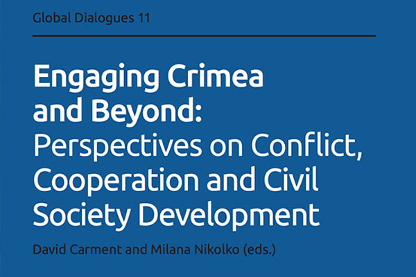 Read more: Engaging Crimea and Beyond: Perspectives on Conflict, Cooperation and Civil Society Development