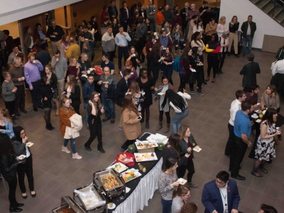 Photo for the news post: FPA Community Gathers to Celebrate its Dean's Honour List Students