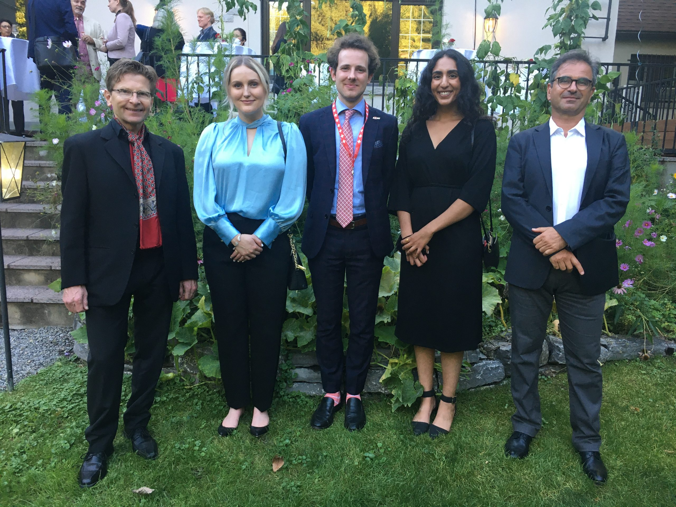 members of dual master's program with University of Lucerne