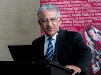 Photo for the news post: Carleton Designates Karim H. Karim Chancellor's Professor