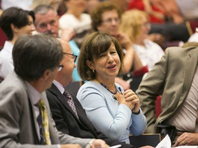 Photo for the news post: BBC Journalist Lyse Doucet Calls for Collaboration on Refugee Crisis