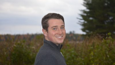 Social Work alumnus Andrew Simpson