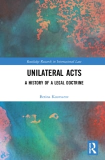 Unilateral Acts Book Cover