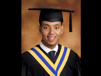 Photo for the news post: BPAPM Honours Former Student with BIPOC Scholarship