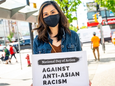 Photo for the news post: Political Management Student Doris Mah Leads National Push Against Anti-Asian Racism