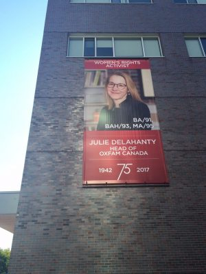 Photo of Banner featuring Julie Delahanty