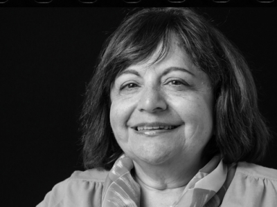 Photo for the news post: Telling Human Stories with Numbers: Economics Professor Lynda Khalaf