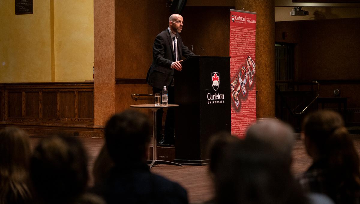 Carleton University President Benoit-Antoine Bacon