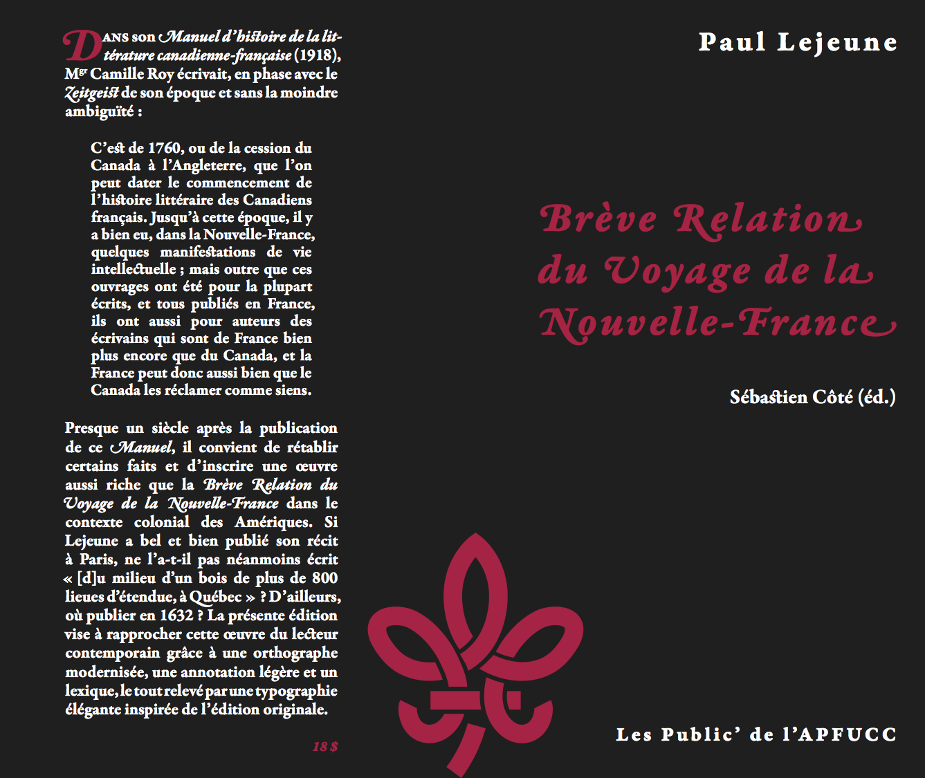 dissertation litterature quebecoise